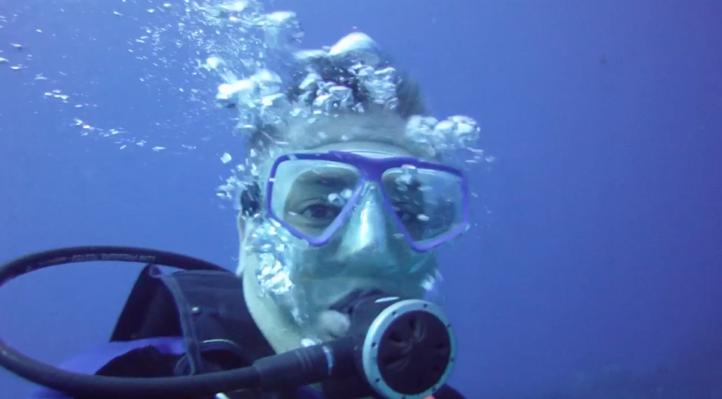 Matt Weinick is a diver