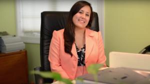 Law student intern Thalia Olaya