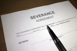 Employment severance agreements
