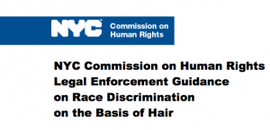 NYC Hair Discrimination Guidance