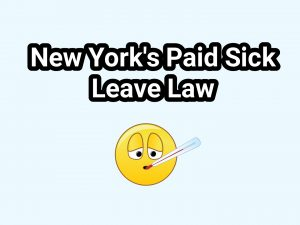 New York's Paid Sick Leave Law