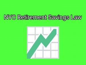 NYC Retirement Savings Law